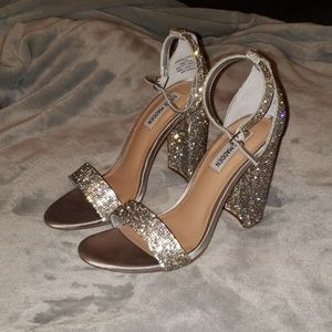 steve madden carrson r crystal heels